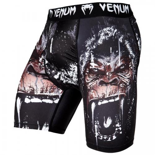 Компрессионные шорты Venum Gorilla Vale Tudo Shorts (VENUM-03148-001) Black р. S